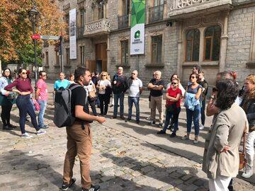 """A walk through the historic center of Vitoria-Gasteiz""."