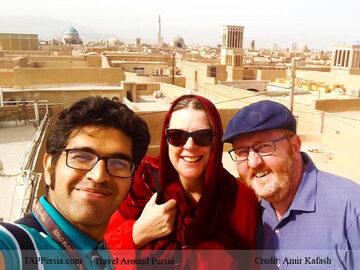 Tour a piedi gratuito di Yazd