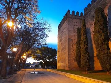 Free walking tour durch Jerez bei Sonnenuntergang