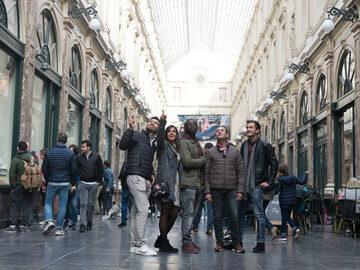 Liberi da Bruxelles: il Palazzo Reale e il Grand Sablon.