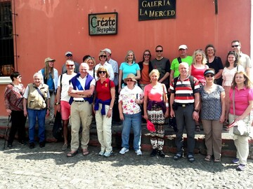 Free walking tour, um La Antigua Guatemala zu entdecken.