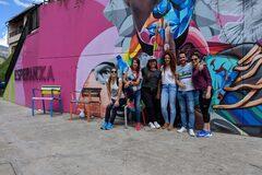 History and Street Art (Graffiti) In Comuna 13