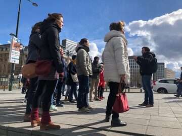 Celebrity Brussels: free tour