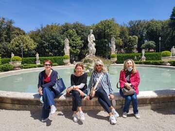 Roma Romantica, tour a piedi di Villa Borghese