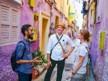 Esperienza locale a piedi a Casablanca