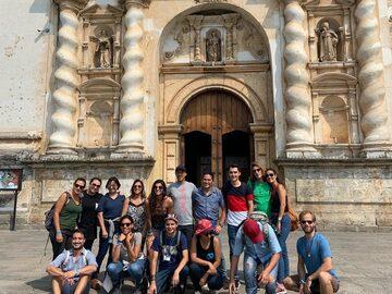 Free walking tour durch die Stadt Antigua - ANTIGUA TOUR ...