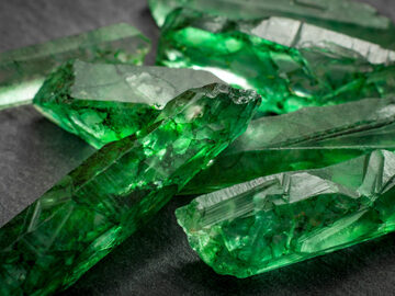 Tour of the Colombian emeralds