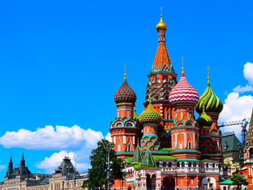 Red Square, the heart of Moscow