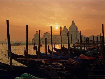 Venezia alle prime luci del mattino
