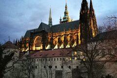 Free Walking Tour Magic Prague: el castillo después de horas