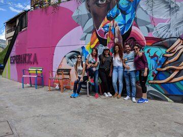 Storia e arte di strada (graffiti) a Comuna 13