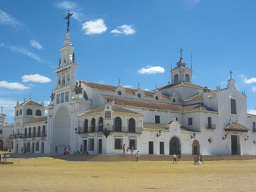 Free tour of El Rocío