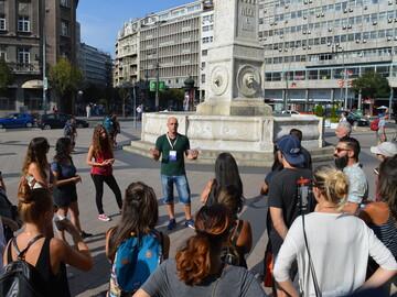 Free tour a pie de la era moderna por Belgrado