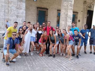 Tour a piedi gratuito a L'Avana Vecchia