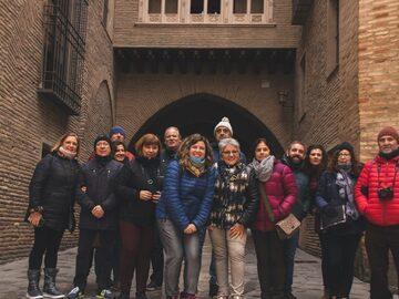 Free walking tour durch das historische Zentrum von Saragossa