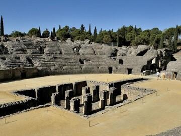 Italica, the first Roman city in Hispania.