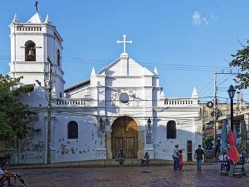 Tour storico a piedi gratuito Santa Marta