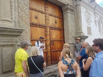 La Antigua in Ihren Händen