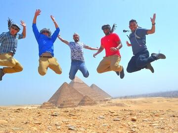 Tour de las pirámides con Dawood