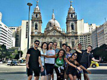Historical Downtown and Lapa - Free Walking Tour