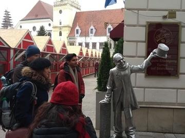 Free tour por el centro histórico y el castillo de Bratislava con bonificación