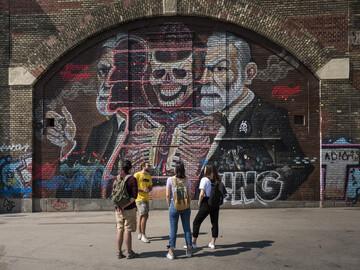 Free walking tour di arte di strada a Vienna