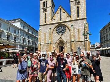 Free walking tour durch Sarajevo