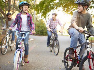 A la caza del tesoro en bicicleta