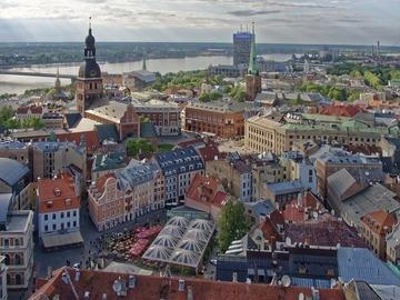 Free walking tour Riga, la perla del Baltico
