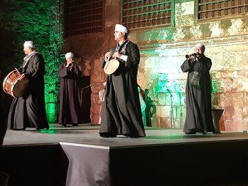 Espectáculo de Tanoura en Wekalet El Ghouri