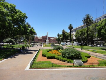 Free tour Icons and history of Buenos Aires.