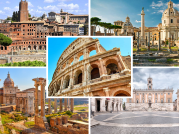A trip on time; Imperial Rome