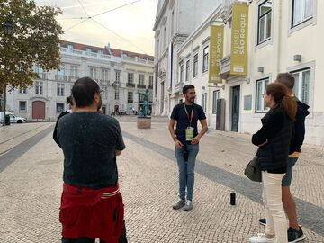 Lissabon Free Tour in 2 Stunden mit Álvaro und Manuel
