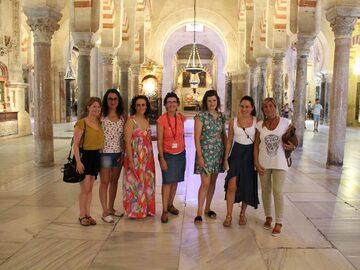 Visita libera della Moschea, Cordova con me