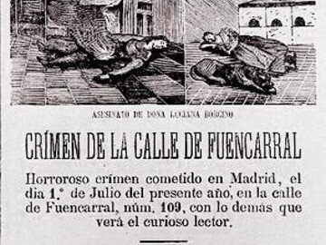 Free Tour Crimes in Madrid