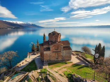Old town of Ohrid. UNESCO heritage