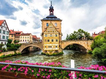 Bamberg Old Town Kostenloser Rundgang