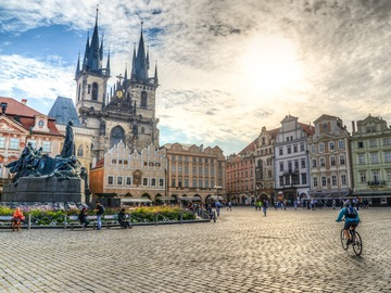 The most impressive corners of Prague's old town