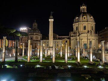 Fori Imperiali di Notte: meravigliosa Roma
