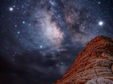 Free Tour nocturno a pie por la Vía Láctea de Petra