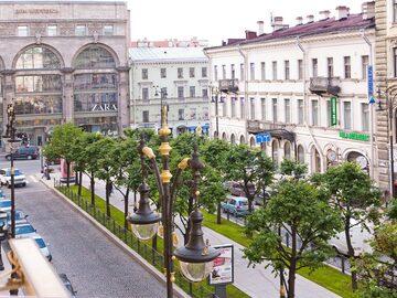 Free tour por los patios y callejones de San Petersburgo.