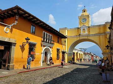 Scopri e impara da Antigua de Guatemala - Free walking tour