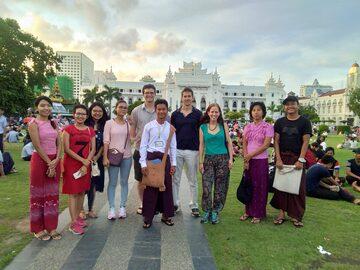 Explore Yangon on Foot (Walking Tour)