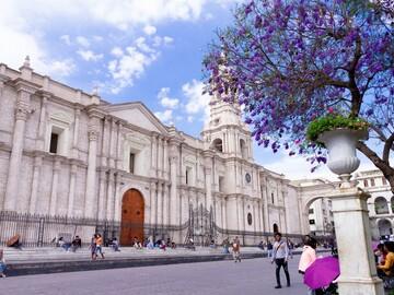 Free walking tour historisches Zentrum Arequipa