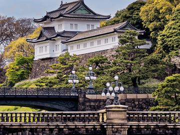Kostenlose Tour Gärten des Kaiserpalastes - Edo Castle und Hibiya