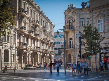 Free tour por el centro de Bakú
