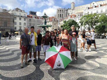 Tour a piedi gratuito italiano di Lisbona
