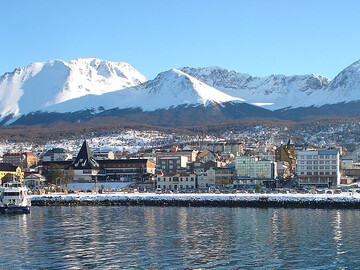 Ushuaia, the city of the End of the World