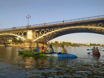 Kayak tour of historic Seville