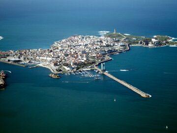 Kostenlose Tour durch das Zentrum von La Coruña